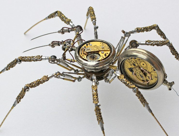 modern art Bizarre Modern Art Creations: Steampunk Spiders Made With Watches feature image 2020 11 19T145247 homepage Homepage feature image 2020 11 19T145247