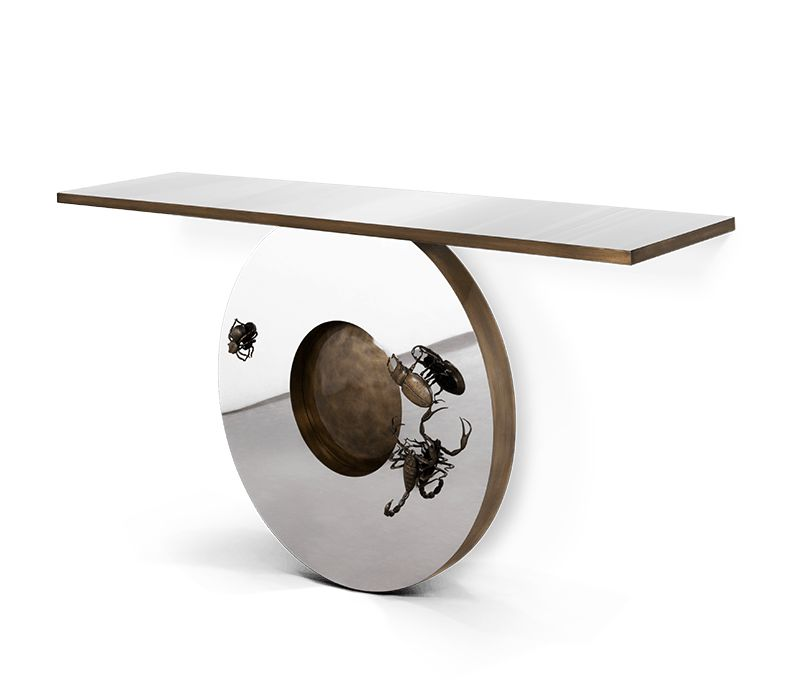 modern console tables Modern Console Tables For Collectable Design Lovers 25 Modern Console Tables That Are Gallery Worthy 3
