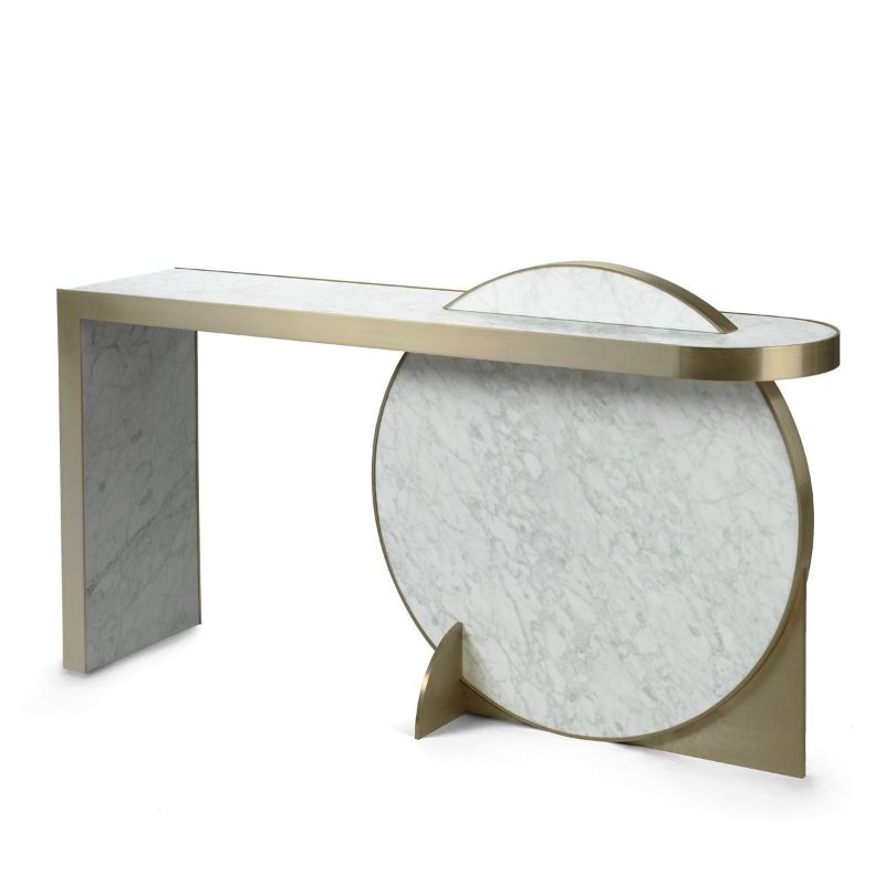 modern console tables Modern Console Tables For Collectable Design Lovers 25 Modern Console Tables That Are Gallery Worthy 9