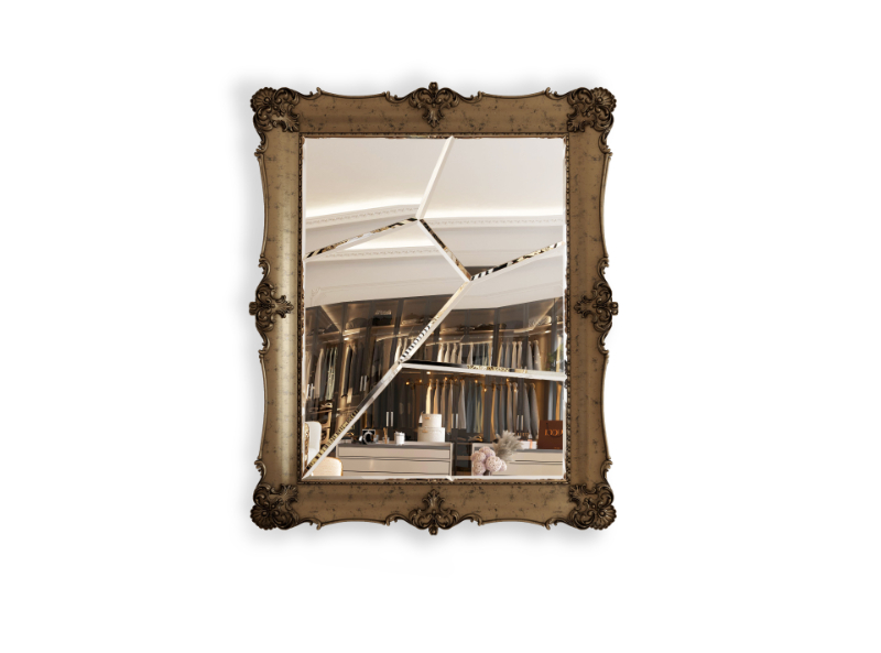 Collectible Design - Discover The Artsiest Pieces Inside A Luxury Penthouse collectable design Collectable Design Pieces You Can Find In This Luxury Penthouse frame mirror