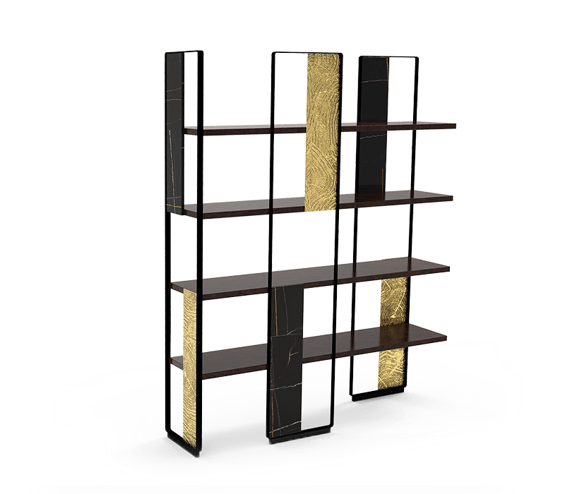 Collectible Design - Discover The Artsiest Pieces Inside A Luxury Penthouse collectable design Collectable Design Pieces You Can Find In This Luxury Penthouse garrett bookcase 01 boca do lobo