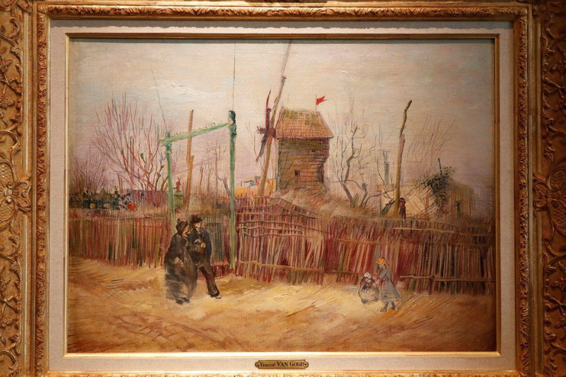 A Van Gogh Painting From 1887 Has Been Recently Revealed van gogh A Van Gogh Painting From 1887 Has Been Recently Revealed 117191024 vangogh1 reuters 1