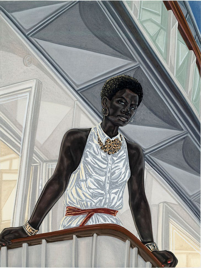 Unraveling 10 Rising Drawing Artists You Need To Know drawing artist Unraveling 10 Rising Drawing Artists You Need To Know Anchor 2018 Toyin Ojih Odutola 1