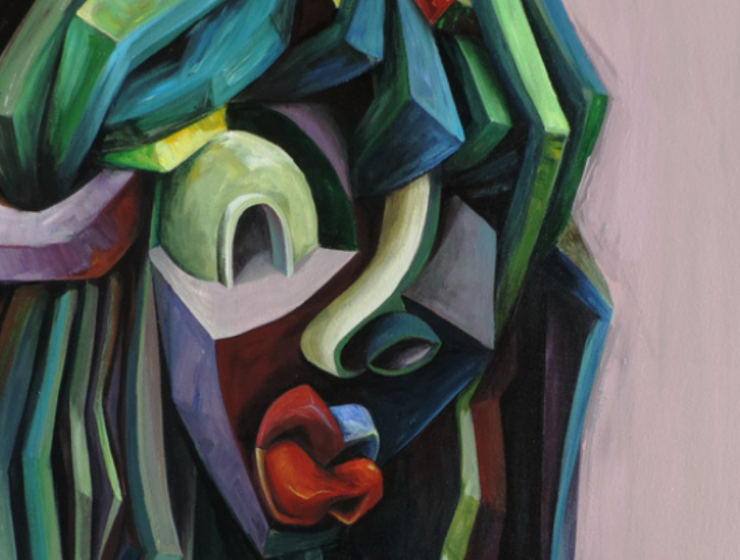 Architecture and Bold Geometry In Patrick Akpojotor's Cubist Portraits cubist portrait Architecture and Bold Geometry In Patrick Akpojotor's Cubist Portraits FT ILY 6 740x560