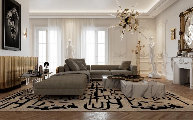 Classic Art Meets Modern Design - Home Decor Trends For 2021 modern design Classic Art Meets Modern Design – Home Decor Trends For 2021 living room 5