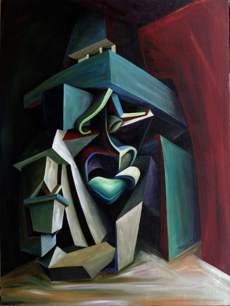 Architecture and Bold Geometry In Patrick Akpojotor's Cubist Portraits cubist portrait Architecture and Bold Geometry In Patrick Akpojotor's Cubist Portraits patrick akpojotor legacy of existence i acrylic on canvas smo contemporary artskop