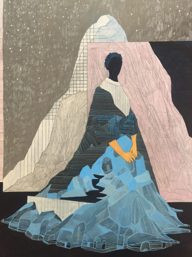 Unraveling 10 Rising Drawing Artists You Need To Know drawing artist Unraveling 10 Rising Drawing Artists You Need To Know tiwanicontemporary pamela phatsimo sunstrum the incense burner 2017 1