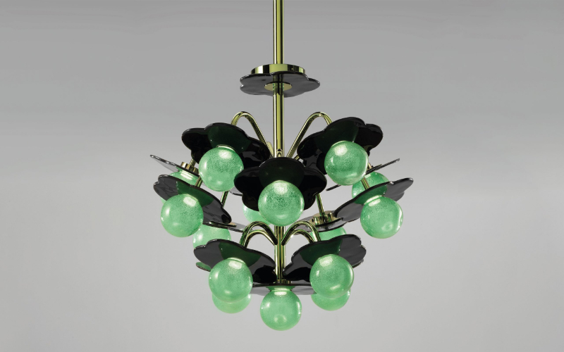 The Best Lighting Ideas For An Art-Filled Home lighting idea The Best Lighting Ideas For An Art-Filled Home Clover Chandelier Carousel 01 2 scaled 1 1