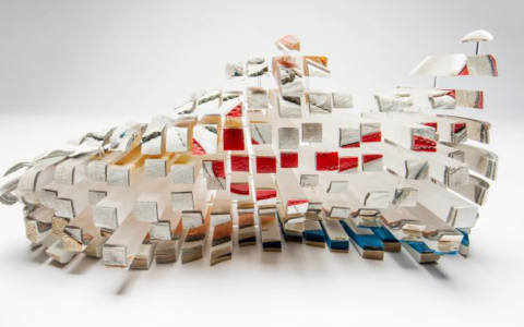 Fabian Oefner's Distorted Sculptures Slice Everyday Objects