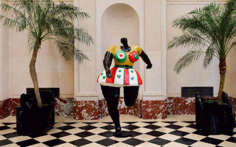 Niki De Saint Phalle's New Art Exhibition Takes Art Out Of The Museum art exhibition Niki De Saint Phalle's Still Takes Art Out Of The Museum FT ILY 2 480x300