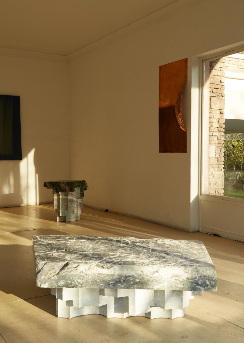 """""""Altar"""", Amazing Marble Table Collection By EWE Studio"""