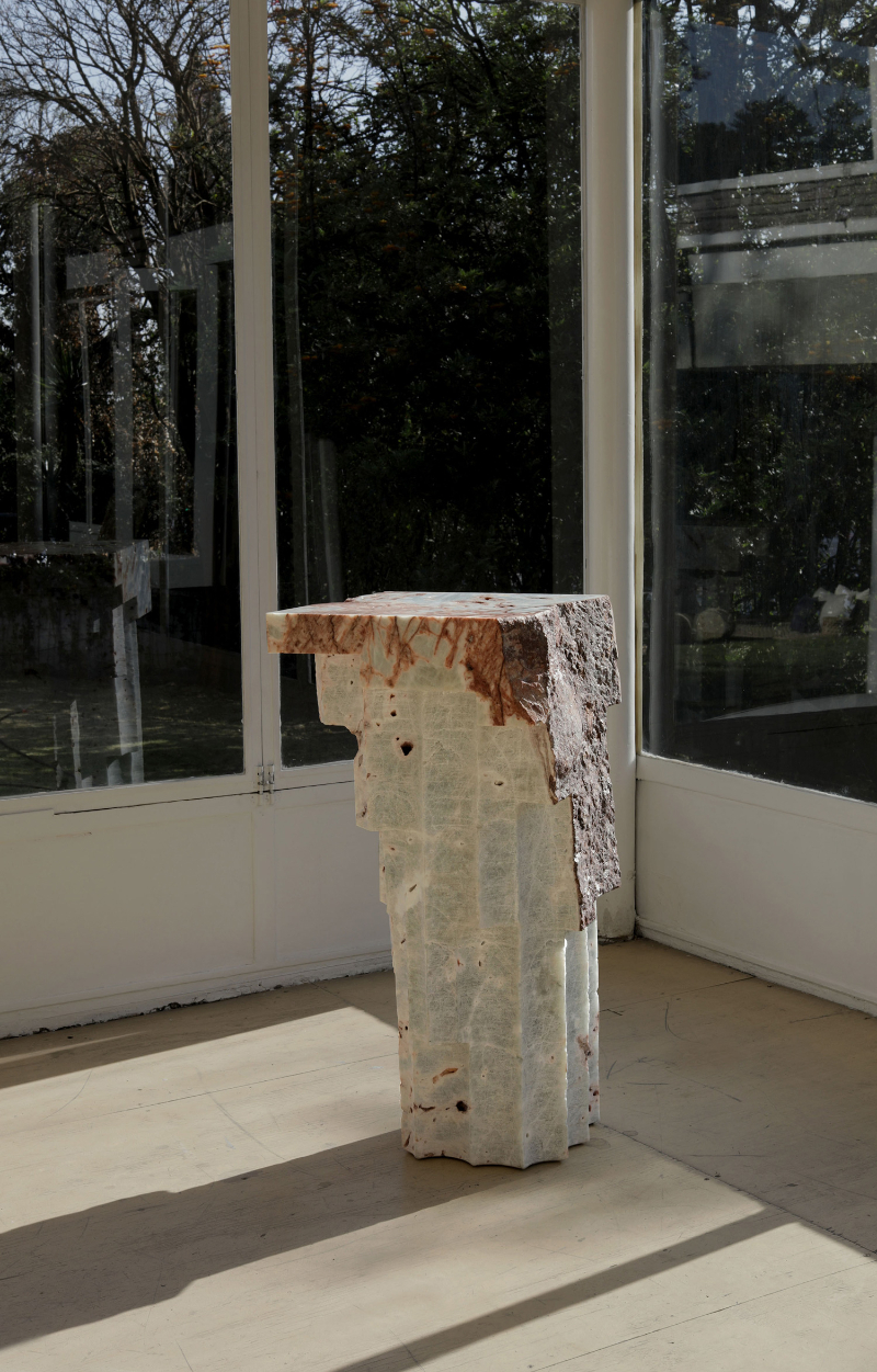 """Altar"", Amazing Marble Table Collection By EWE Studio marble table ""Altar"", Amazing Marble Table Collection By EWE Studio MASA Altar 7 1"