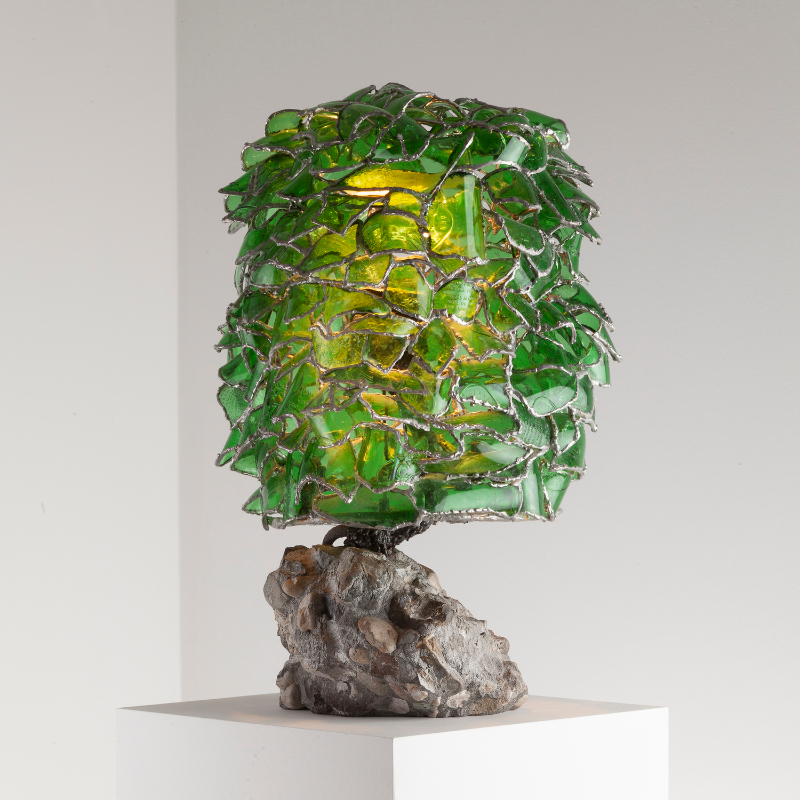 10 Furniture Design Pieces For An Art-Filled Home furniture design Imposing Furniture Design Pieces To Enhance Your Home Decor carbonell tin compact green bubble lamp 1692020 01 cropsq 1500 1