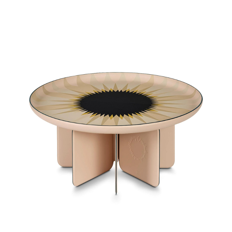 10 Furniture Design Pieces For An Art-Filled Home furniture design Imposing Furniture Design Pieces To Enhance Your Home Decor louis vuitton talisman table gm by india mahdavi home R98748 PM2 Front view