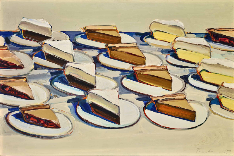 Famous Artists That Never Cease To Reinvent Their Careers famous artist Famous Artists That Never Cease To Reinvent Their Careers thiebaud pies 1
