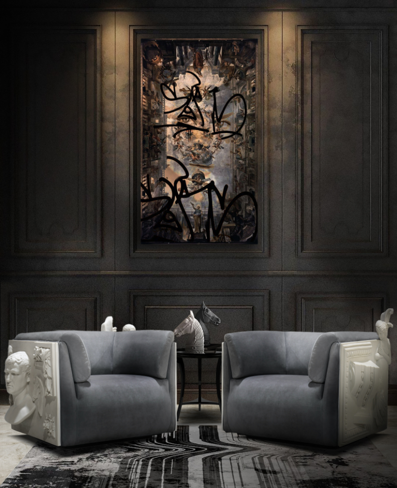 10 Furniture Design Pieces For An Art-Filled Home furniture design Imposing Furniture Design Pieces To Enhance Your Home Decor versailles armchair