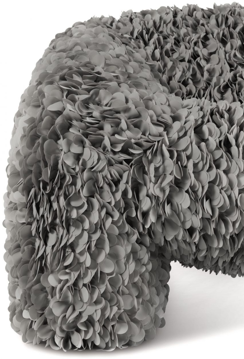 """Moooi Releases A Chair """"Impossible To Produce"""", Made With 30,000 Fabric Petals moooi Moooi Releases A Chair """"Impossible To Produce"""", Made With 30 000 Fabric Petals 1619427879 359 Moooi releases real version of virtual Hortensia chair by Andres 1"""