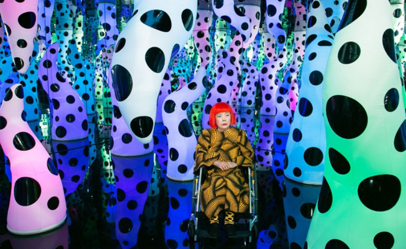 """""""Art Issue, Impactful Minds"""" - The Perfect Ebook For Art Lovers ebook Get Lost In Our Newest Ebook, """"Art Issue 2021- Impactful Minds"""" The dot obsession by Yayoi Kusama artists I Lobo you6 1"""