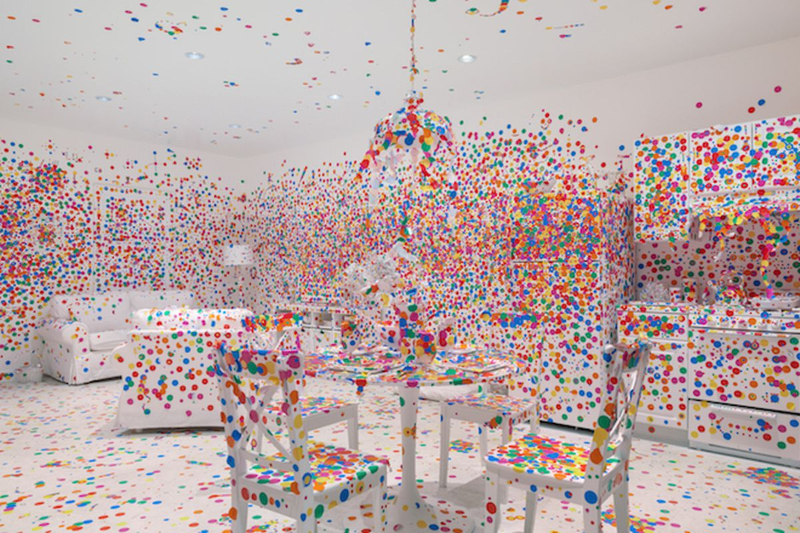 Art Galleries In New York City You Need To Visit art galleries Art Galleries In New York City You Need To Visit Yayoi Kusama Obliteration Room Zwirner 5 thumb