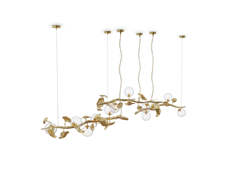 modern dining room Give Your Modern Dining Room An Artsy Aesthetic hera suspension lamp 01 1