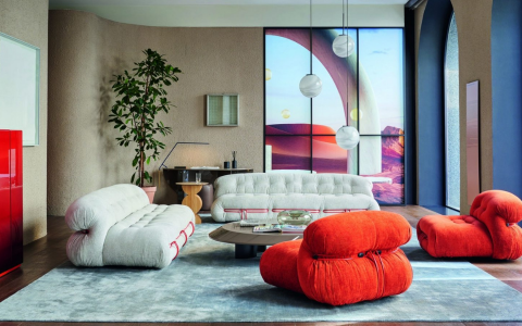 Colorful And Modern Living Room Furniture For A An Art-Filled Home modern living room furniture Colorful And Modern Living Room Furniture For A An Art-Filled Home FT ILY 1 7 480x300
