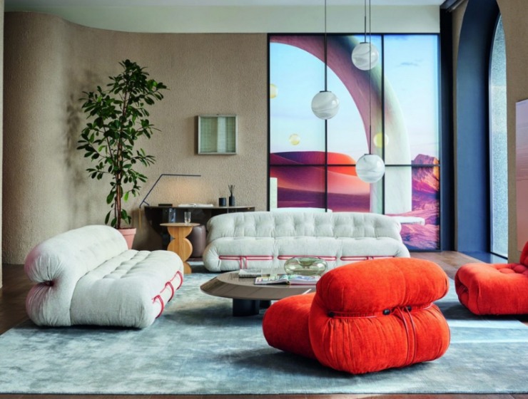 Colorful And Modern Living Room Furniture For A An Art-Filled Home modern living room furniture Colorful And Modern Living Room Furniture For A An Art-Filled Home FT ILY 1 7 740x560