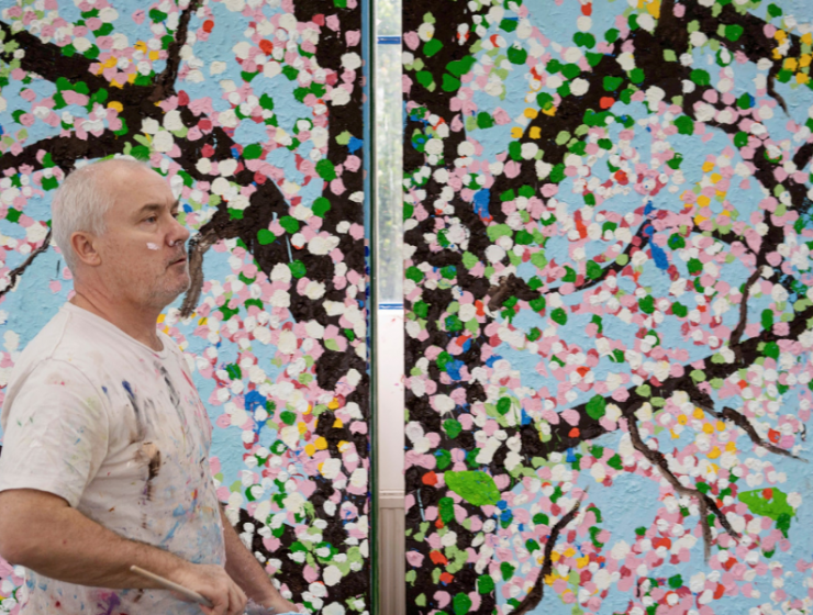 """Damien Hirst's """"Cherry Blossoms"""" Art Exhibition Takes Place In Paris damien hirst Damien Hirst's """"Cherry Blossoms"""" Art Exhibition Takes Place In Paris FT ILY 1 740x560 homepage Homepage FT ILY 1 740x560"""