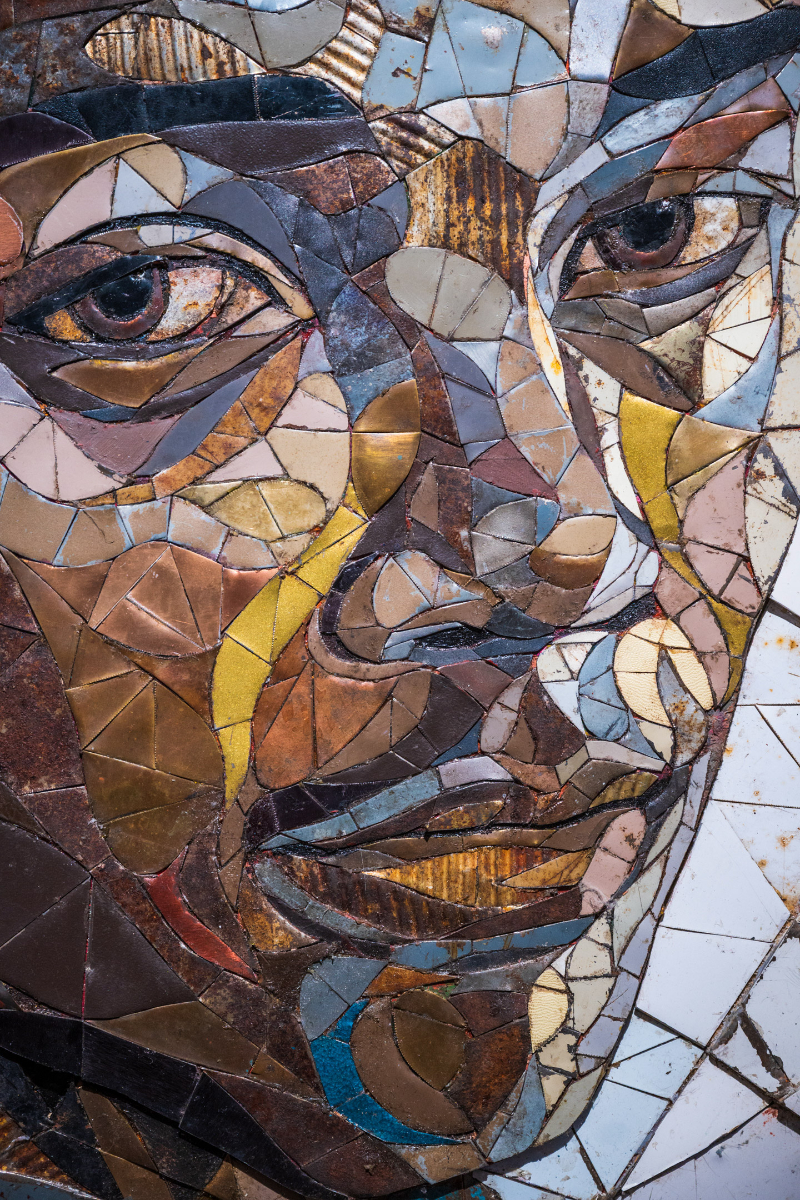 Matt Small's Amazing Mosaics Speak For Who Don't Have A Voice