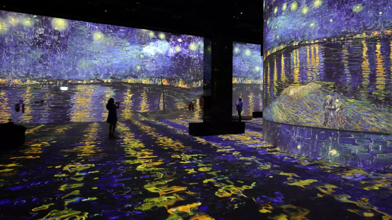 Step Inside The Largest Digital Art Gallery in Dubai, Infinity des Lumières