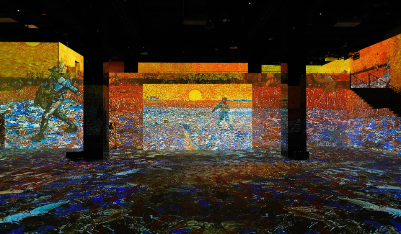 digital art gallery Step Inside The Immersive and Largest Digital Art Gallery- Infinity des Lumières Step Inside The Largest Digital Art Gallery in Dubai Infinity des Lumieres 4