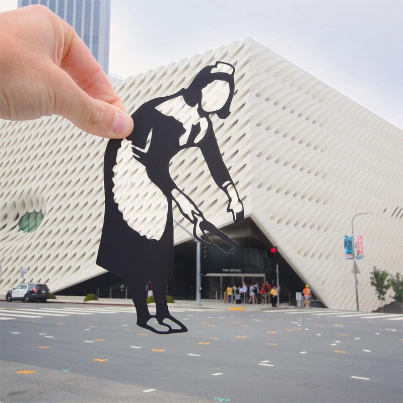 Touristic Landmarks Get A Fun Look With PaperBoyo's Paper Cutouts
