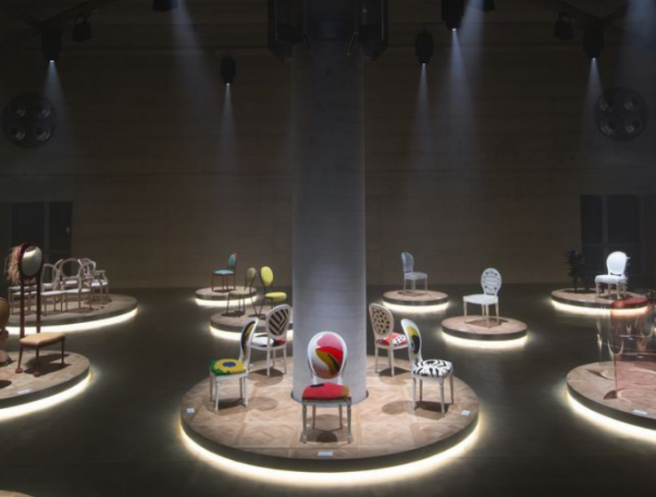 Dior's Iconic Medallion Chair Got 17 New Looks At Milan Design Week 2021!